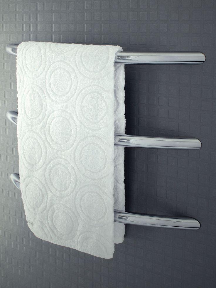 67 best dc short images on pinterest towel holder towel - Heated towel racks for bathrooms ...