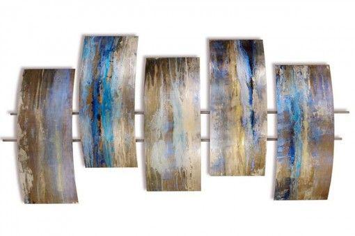 TIDEPOOLS - Handgemaakte metalen wandsculpturen - #art #kunst #love #koper #brons #deruijtermeubel