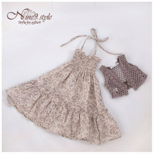 Nine9 Style (clothes of ball jointed doll, BJD) I have to learn how to crochet >