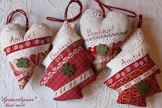 Christmas trees and hearts - Cuori ed  Abeti Natale