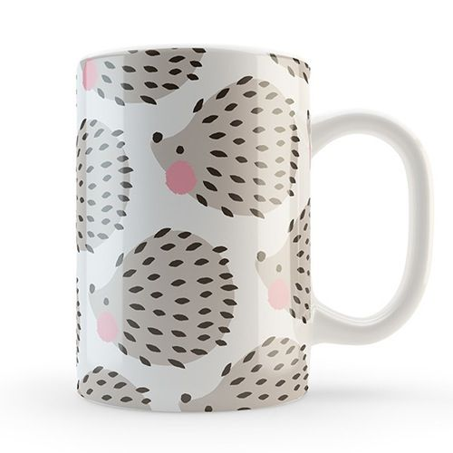 The cuttest Hedgehog Mug from Charuca. Isn't it awesome?