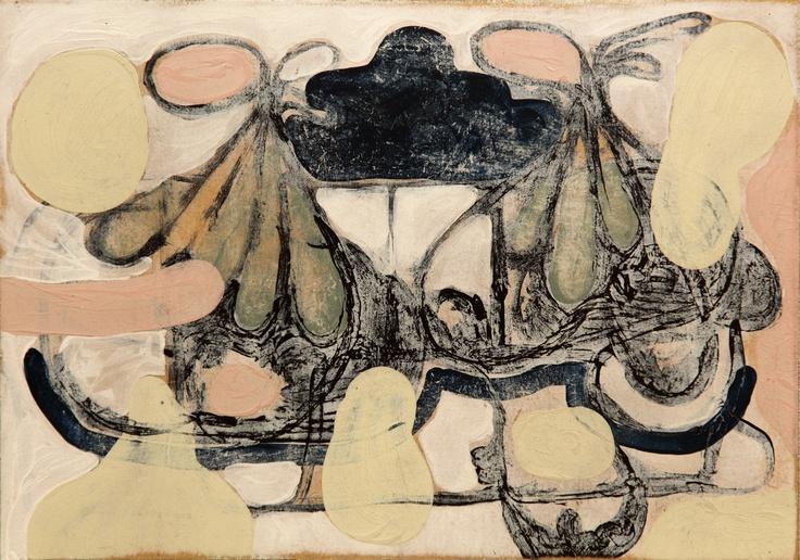 Mind Map #5 (2011) Painting by Norwegian artist Øyvind Suul. #art #painting #suul #2D #Norway