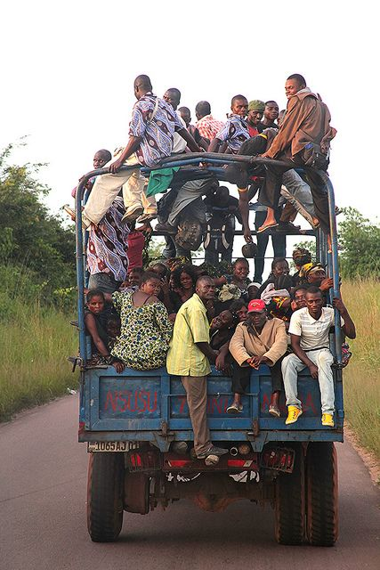 Traveling in the Republic of Congo by Damian Varia
