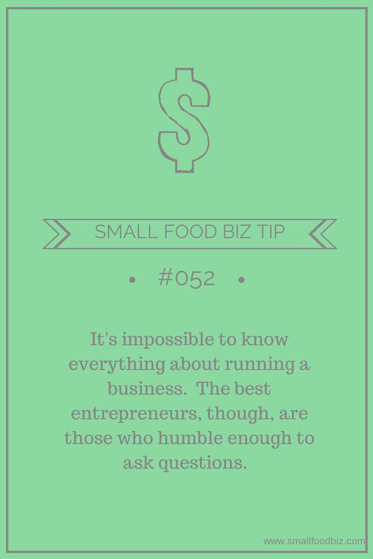 best images about food biz tips tutorials group board on one of the greatest strengths a small business owner can have is the humility to know