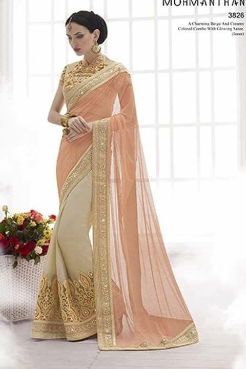 #designer #saree @  http://zohraa.com/beige-net-saree-z7009p3826-22.html #designersarees #celebrity #zohraa #onlineshop #womensfashion #womenswear #bollywood #look #diva #party #shopping #online #beautiful #beauty #glam #shoppingonline #styles #stylish #model #fashionista #women #lifestyle #fashion #original #products #saynotoreplicas