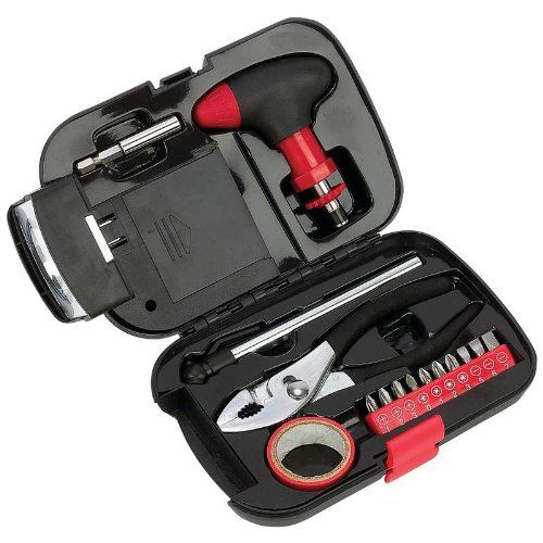 New emergency tool set with flashlight and much more