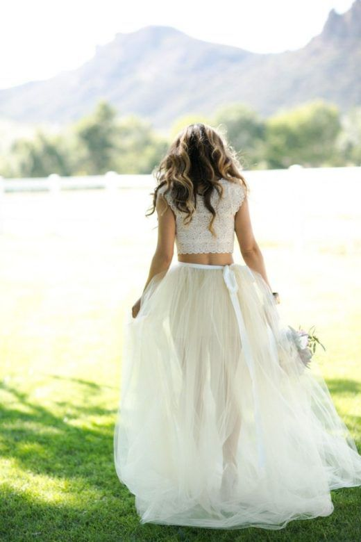 10 Of The Best Wedding Dress Skirts Tops