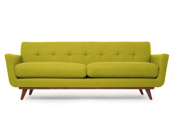 Nixon Sofa in wheatgrass green