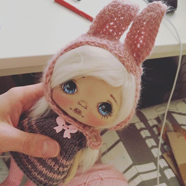 Ку-ку;) #олли #куклы #кукла #куколка #ручнаяработа #авторскаякукла…