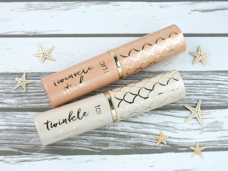 Tarte Summer 2017 Rainforest of the Sea Twinkle Stick Highlighters: Review and Swatches