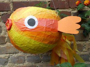 Laterne Goldfisch (St. Martin)