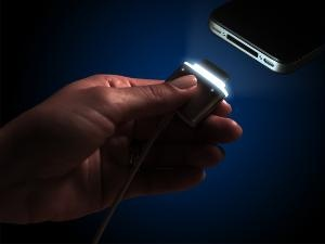 illuminated Charger Cable for your iPhone, where have you been all my life?