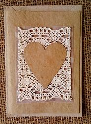 Lace - Tree-free Greeting Card