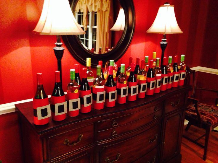 Diy Wine Advent Calendar : Ideas about wine advent calendar on pinterest