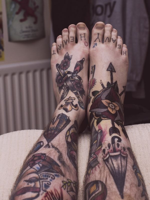 190 Most Popular Foot Tattoos, Pros, Cons, Celebrities  awesome  Check more at…
