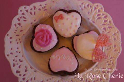 La Rose Cherie(ラ・ローズ・シェリー) デコレーション教室-バレンタイン・デコレーション 特別講座