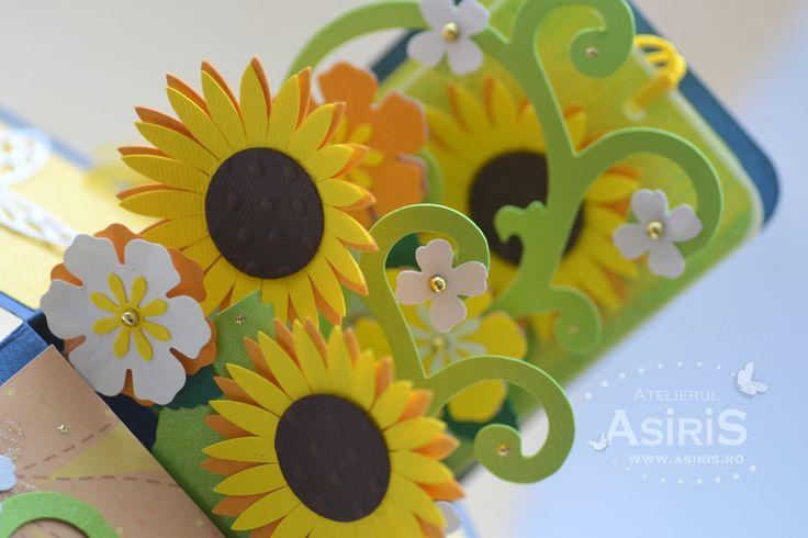Sunflower explosion box