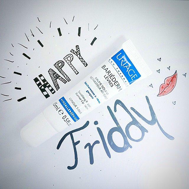 Happy Friday, Happy Lips!! #Uriage #Lipbalm #TGIF #frenchskincare