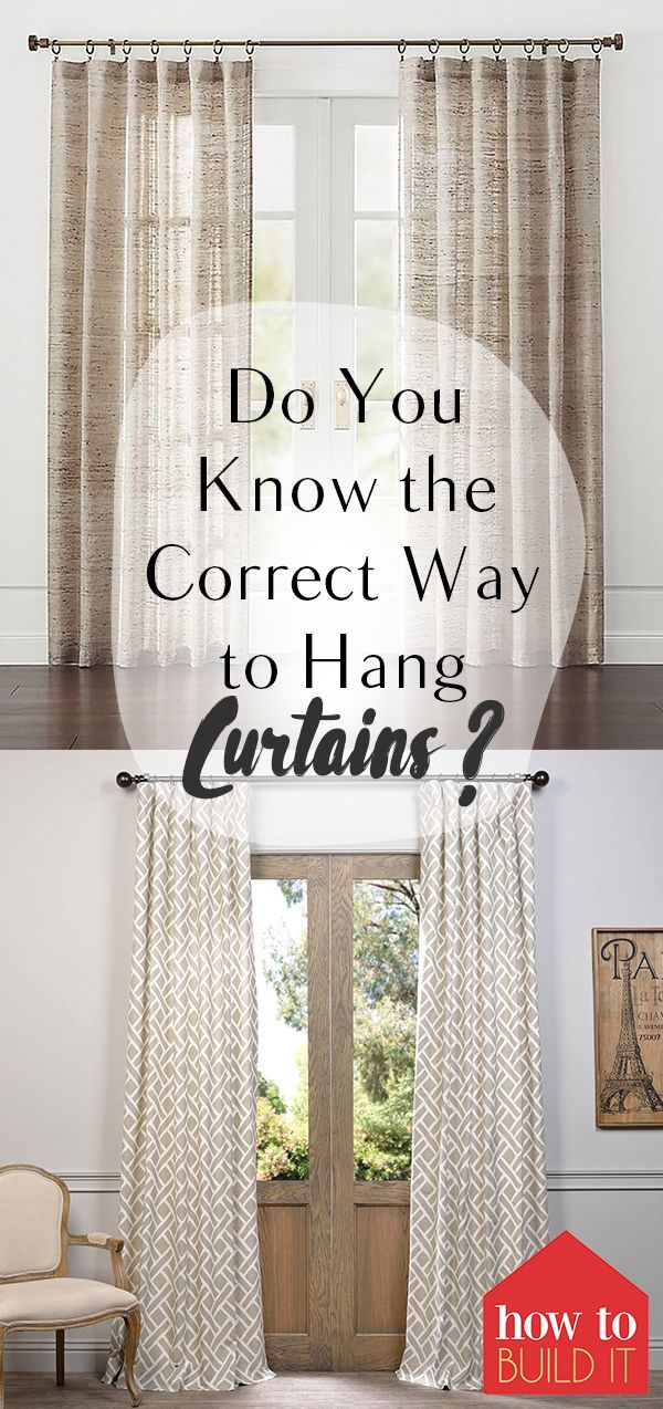 best 25 hanging curtains ideas on pinterest curtain ideas for living room sheer curtains and. Black Bedroom Furniture Sets. Home Design Ideas