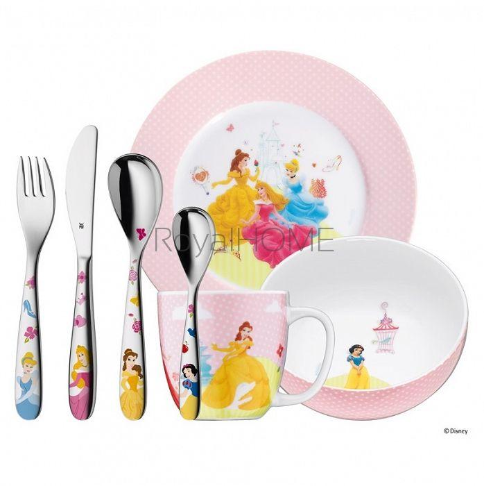 WMF - zestaw 7cz. sztućców dla dzieci Princess