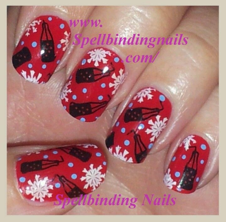 33 best coca cola nails images on pinterest hairstyles beauty coca cola nails prinsesfo Gallery