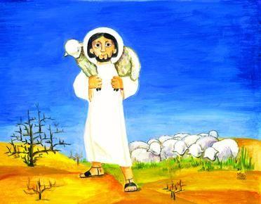 O ztracené ovci a dobrém pastýři -