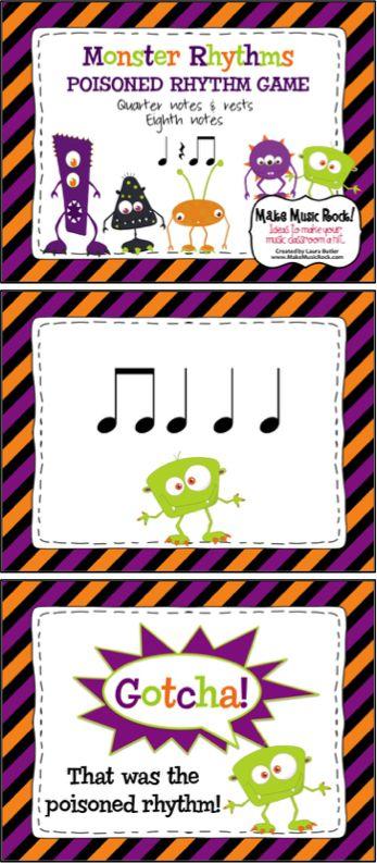 Make Music Rock!: Monster Rhythms ~ Rhythmic Practice & Poisoned Rhythm Game