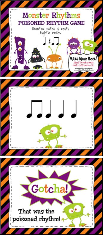 Make Music Rock!: Monster Rhythms ~ Rhythmic Practice & Poisoned Rhythm Game