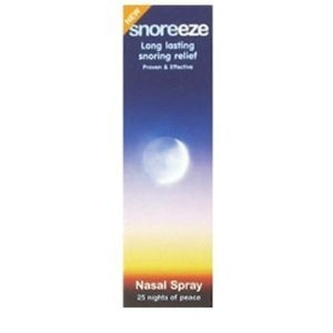 http://snoringsolutionsforever.com/pinnable-post/snoreeze-nasal-spray-10ml Clinically proven and effective  Works for up to 8 hours  Immediate effect  Made with natural ingredients  Nasal spray - relief from snoring Targets snoring caused by colds, allergies or a blocked nose  Will this product work for me? Snoreeze Nasal Spray is ideal for those who snore occasionally due to colds, allergies or a blocked nose.  Why does a blocked nose cause snor...