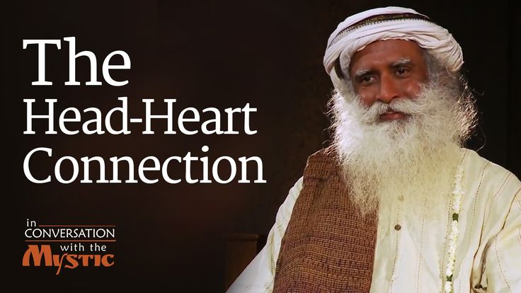 """Vinita Bali, former MD Britannia Industries in conversation with Sadhguru, asks him about the connection between head and heart. Sadhguru looks at how thought and emotion are connected. Thought is more agile, and can change immediately, but emotion has a slower """"turning arc"""" and takes a little while to catch up."""