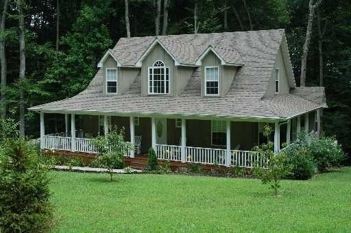 i'm obsessed with wrap around porches. found this online somewhere a LONG time ago kraftylady