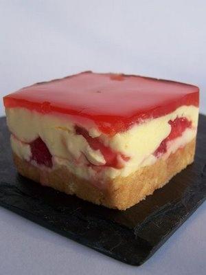 Cheese cake di tiramisu e fragole