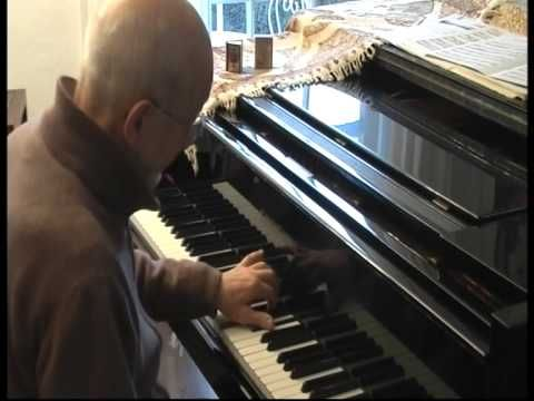 Gerhard Eckle plays Phillip Wilcher,Two Preludes for Left Hand, I