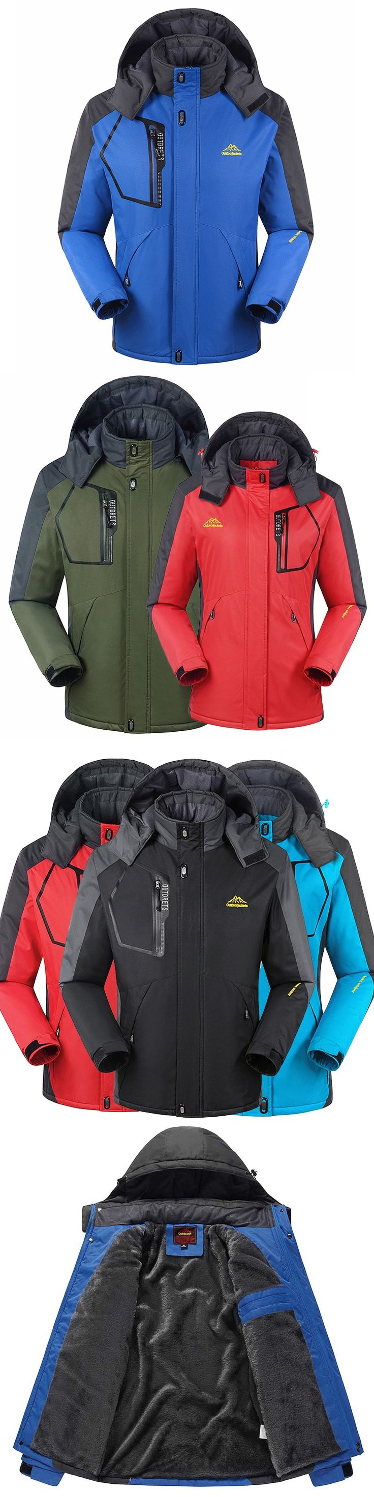 Winter men Waterproof Jacket Women Outwear thermal jacket and coat thick outwear Windbreake warm jackets 8XL,YA367