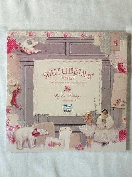 Tilda Scrapbooking Papier  Sweet Christmas von Die Geschenkidee auf DaWanda.com