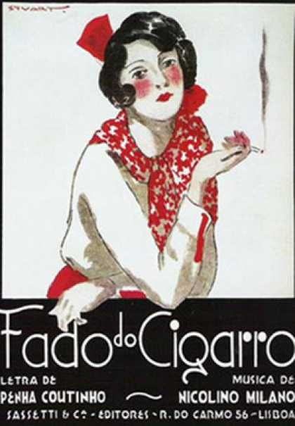 Fado do cigarro – Portugal (1930)