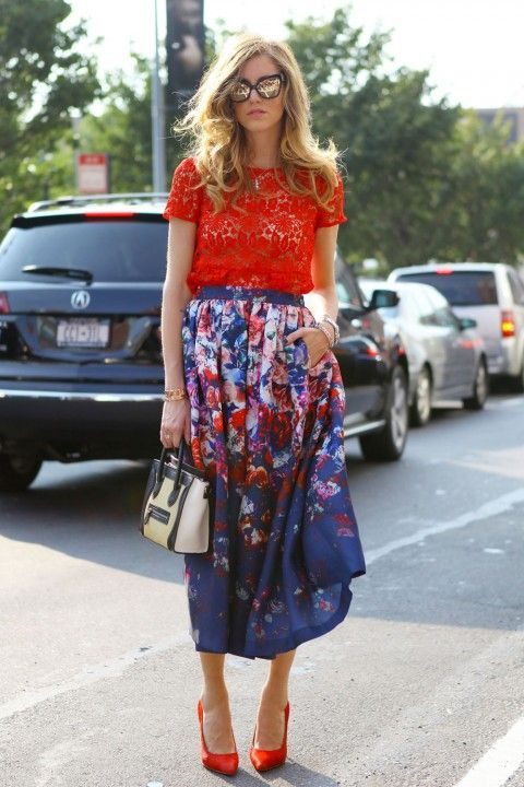 Midi Skirts: 30 For Easy Day To Night Glamour
