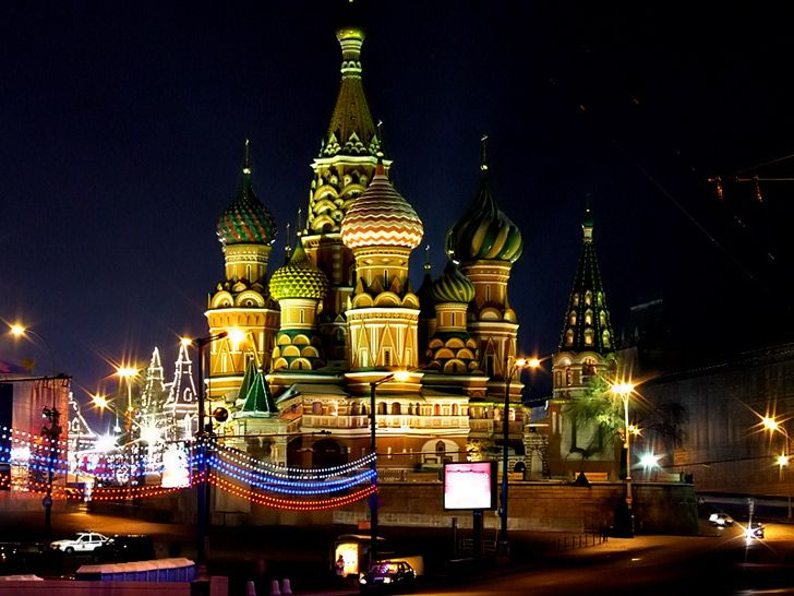 Ahh, I would still love to go see Moscow...