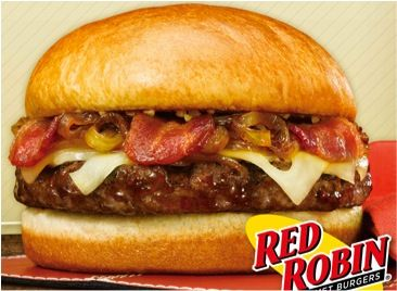 Take a bite out of life with a Red Robin burger! #Play4Perks today to win a $10 gift card to Red Robins! Visit www.play4perks.me on your iOS device today!