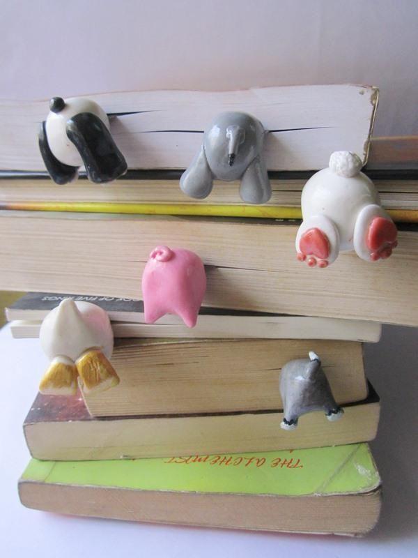 Te presentamos los más creativos y originales marcadores de libros que además de ayudarte a recordar dónde pausaste tu lectura, harán querer leer más.