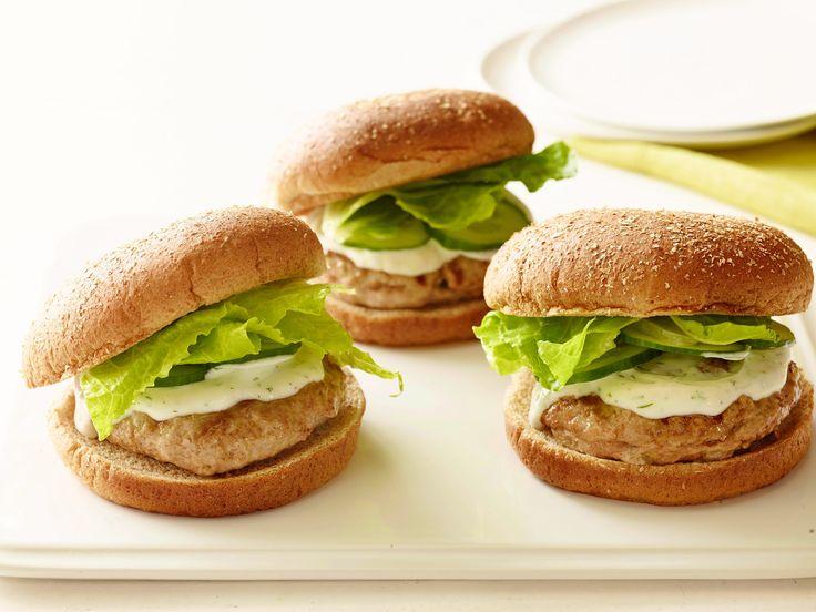 Ellie's Big Fat Greek Burger: Food Network, Dinners Recipes, Fat Greek, Ellie Big, Ellie Warrior, Greek Burgers, Big Fat, Burgers Recipes, Greek Turkey Burgers