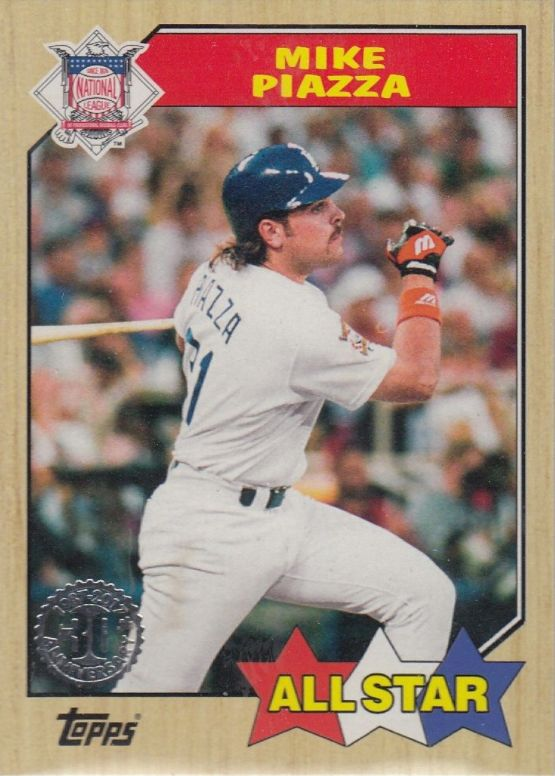 2017 Topps Series 2 - The Dodgers Insert Cards Part 2 - Mike Piazza