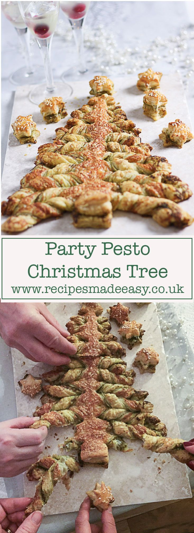 a simple to make pastry centre piece for your festive party and a fizzy drink to help make it go with a swing.