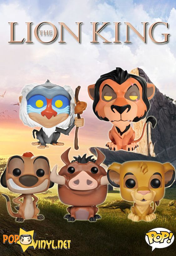 The Lion King POP Vinyls Announced  - Visit http://popvinyl.net/pop-vinyl-news/lion-king-pop-vinyls-announced/ for more information -