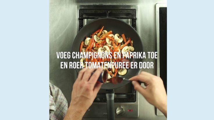 Queens vis als vleesrecept: tilapia stroganoff met gebakken aardappeltjes