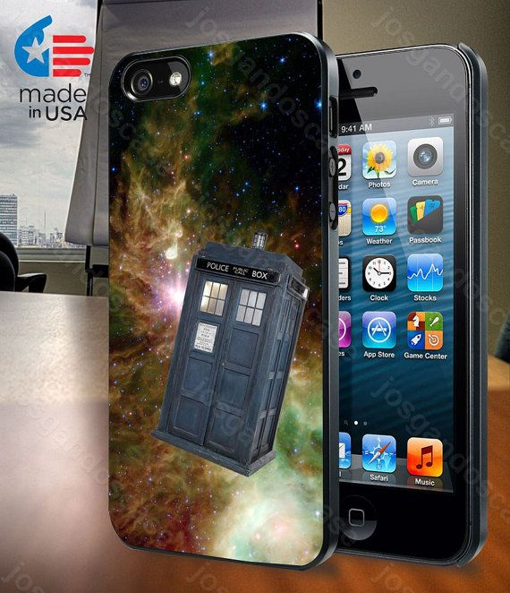 Tardis Dr Who in Galaxy Space for iPhone 4/4S by josgandoscase, $14.79
