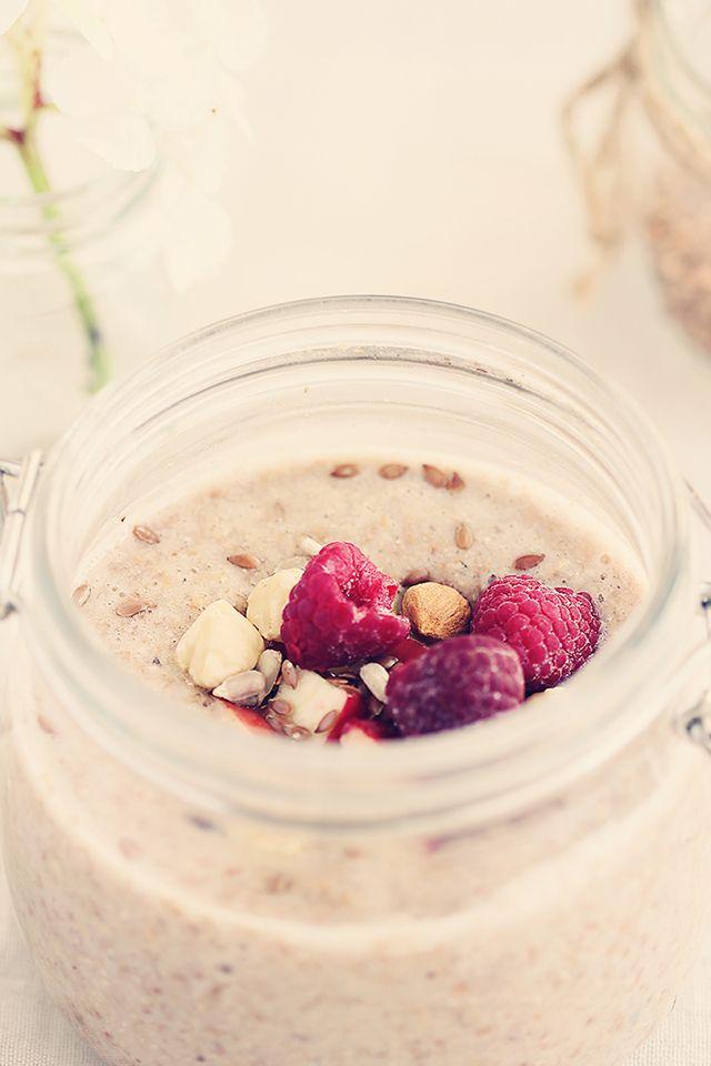 Budinca de hrisca raw pentru micul dejun