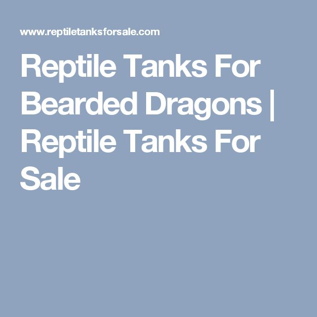 Reptile Tanks For Bearded Dragons | Reptile Tanks For Sale