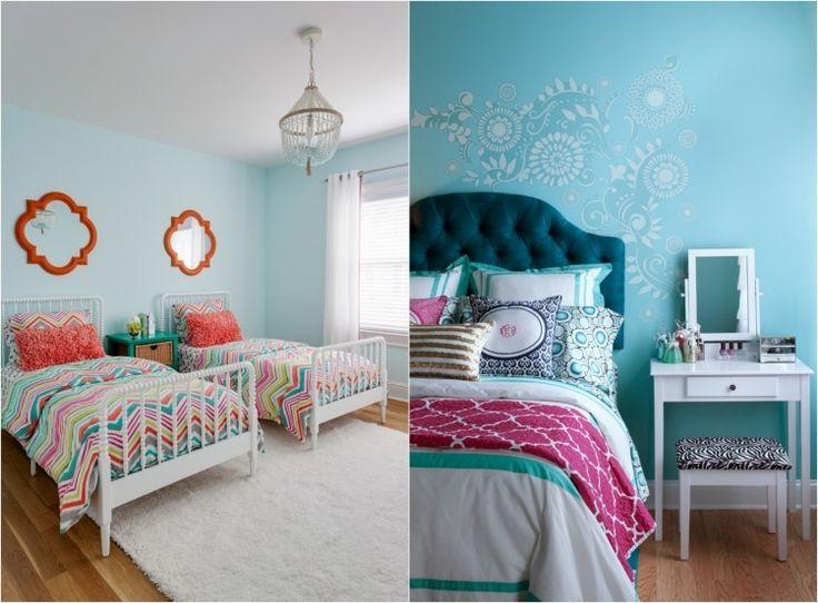 Chambre enfants dans le langage des couleurs 60 id es d co room tour chambre enfant - Deco chambre annee 60 ...