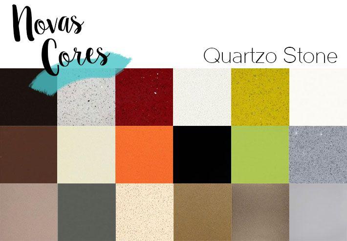 Novas cores de Quartzo Stone | Como combinar cor da cozinha